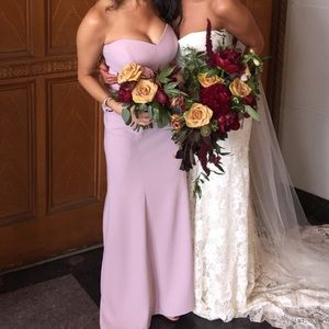 Purple Prom / homecoming / Bridesmaid Dress (2)